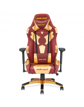 Anda SeatSpecial Edition Large Gaming Chair with 4D Armrest (Red Maroon/Golden)