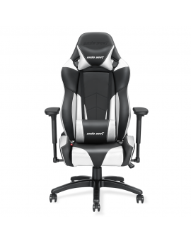 Anda Seat Special Edition Large Gaming Chair with 4D Armrest (Black/Silver)