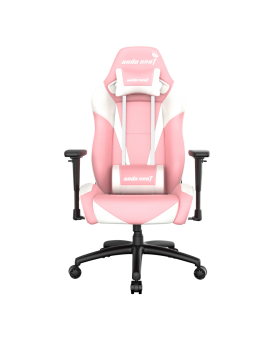 Anda Seat Special Edition Large gaming Chair with 3D Armrest (Pink White)