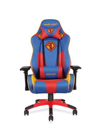 Anda Seat  Special Edition Large Gaming Chair with 4D Armrest (Blue/Red/Yellow)