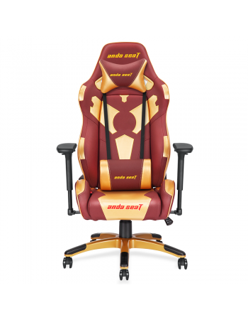 Anda Seat  Special Edition Large Gaming Chair with 4D Armrest (Red Maroon/Golden)